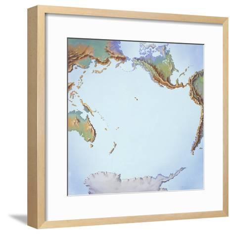 Tectonics Movements--Framed Art Print