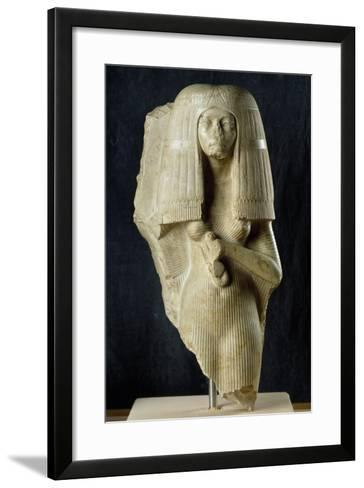 Bust of General Nakhtimin's Wife--Framed Art Print