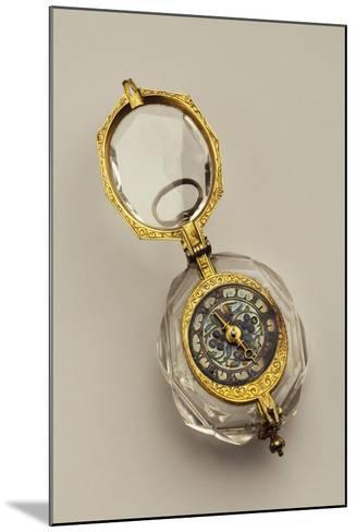 Open-Faced Pendant Watch, France--Mounted Giclee Print