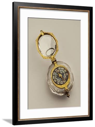 Open-Faced Pendant Watch, France--Framed Art Print