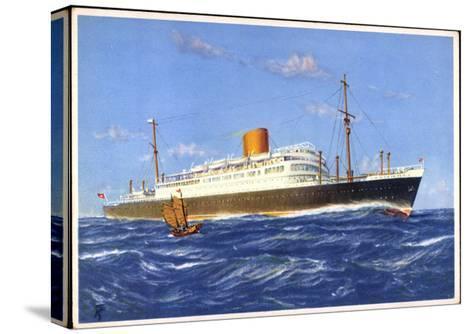 Dampfer Gneisenau Der Norddt. Lloyd Bremen--Stretched Canvas Print