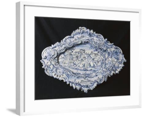 Rocaille-Style Plate, 1742--Framed Art Print