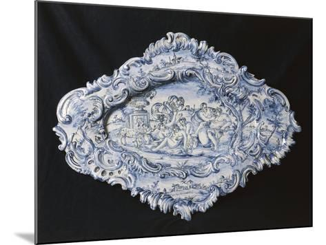 Rocaille-Style Plate, 1742--Mounted Giclee Print
