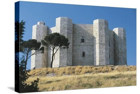 Italy, Puglia Region, Le Murge, Castel Del Monte--Stretched Canvas Print