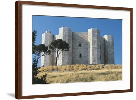 Italy, Puglia Region, Le Murge, Castel Del Monte--Framed Art Print