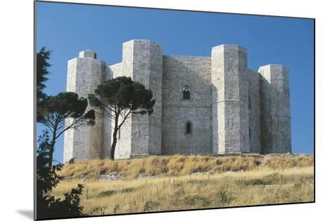 Italy, Puglia Region, Le Murge, Castel Del Monte--Mounted Giclee Print