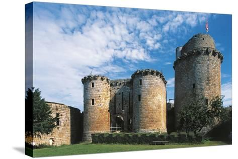 France, Brittany, Tonquedec, Castle--Stretched Canvas Print