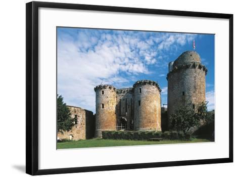 France, Brittany, Tonquedec, Castle--Framed Art Print