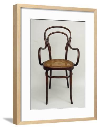 Thonet Chair, Steamed Beech, Austria--Framed Art Print
