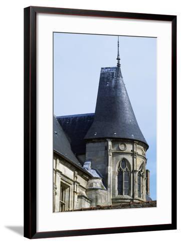 View of Nantouillet Castle, Ile-De-France, France, 16th Century--Framed Art Print