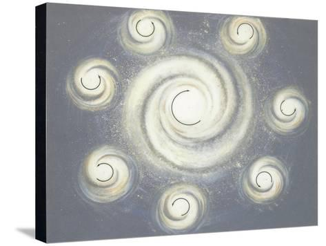 Nebula in Space--Stretched Canvas Print