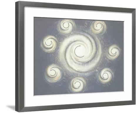 Nebula in Space--Framed Art Print