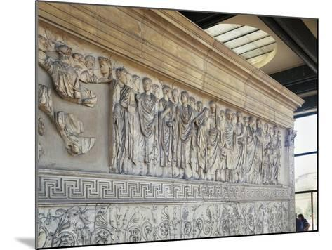 Roman Civilization, Augustae Ara Pacis Bas Relief with Caesar Augustus and His Family--Mounted Giclee Print