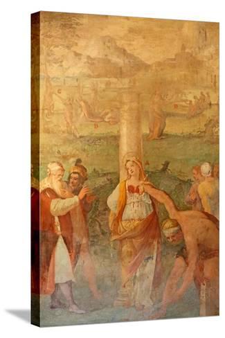 Martyrdom of a Female Saint--Stretched Canvas Print