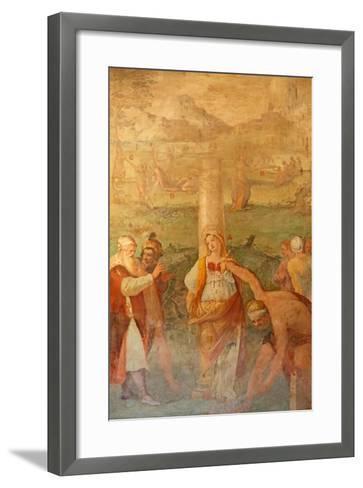 Martyrdom of a Female Saint--Framed Art Print