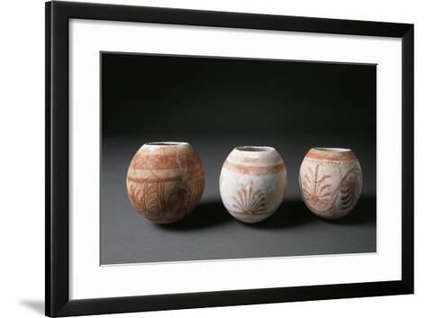 Spain, Painted Ostrich Eggs--Framed Art Print
