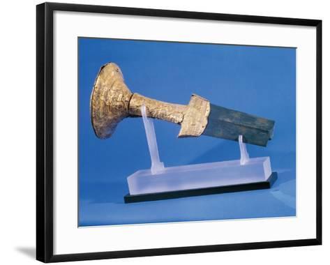 Gold Sword Hilt, from Skopelos, Greece--Framed Art Print