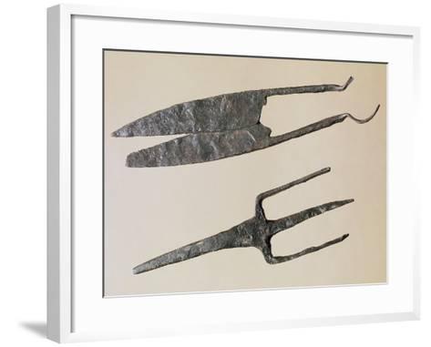 Scissors and Trident, Gallo-Roman Civilization--Framed Art Print