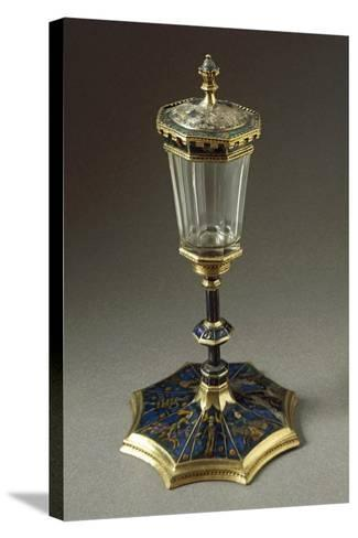 Tournament Cup or Coupe Du Tournoi, in Gold, Enamel, Rock Crystal--Stretched Canvas Print