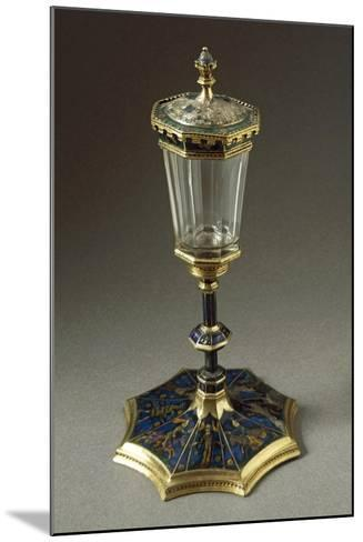 Tournament Cup or Coupe Du Tournoi, in Gold, Enamel, Rock Crystal--Mounted Giclee Print