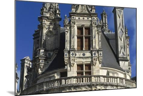 France, Centre Region, Loir-Et-Cher Department, Chambord, Chambord Castle, Detail--Mounted Giclee Print