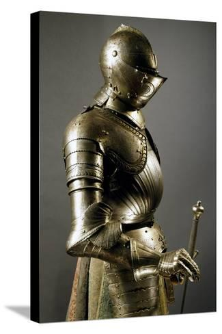Horseman's Armor in Steel, Made in Southern Germany, 1515-1530, Germany, 16th Century--Stretched Canvas Print