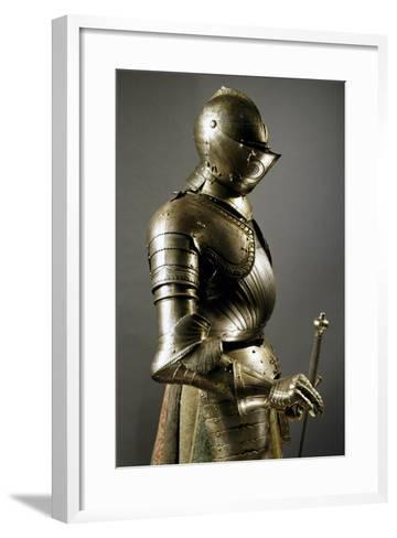 Horseman's Armor in Steel, Made in Southern Germany, 1515-1530, Germany, 16th Century--Framed Art Print