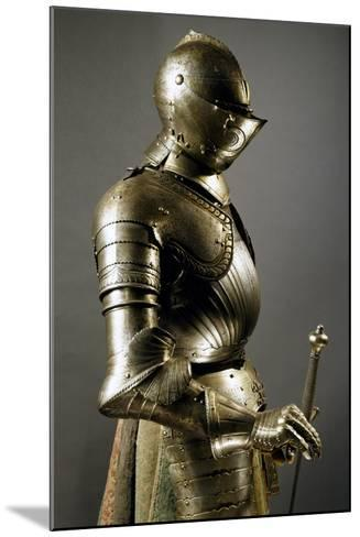 Horseman's Armor in Steel, Made in Southern Germany, 1515-1530, Germany, 16th Century--Mounted Giclee Print