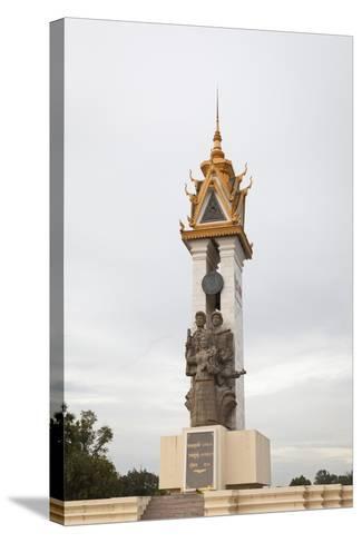 Cambodia Vietnam Friendship Monument, Phnom Penh, Cambodia--Stretched Canvas Print