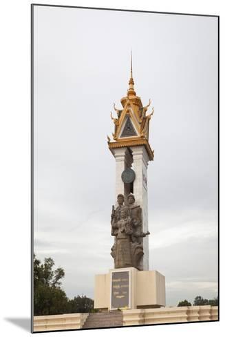 Cambodia Vietnam Friendship Monument, Phnom Penh, Cambodia--Mounted Giclee Print