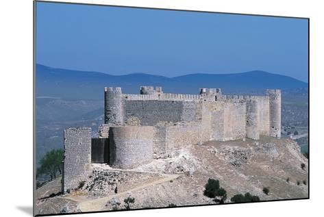 Spain, Castile-La Mancha, Guadalajara, Jadraque, Jadraque Castle, also known as 'Castle of El Cid'--Mounted Giclee Print