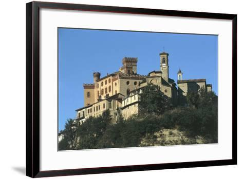 Italy, Piedmont, Castello Falletti Barolo Regional Wine Cellar and Ethnographical and Wine Museum--Framed Art Print