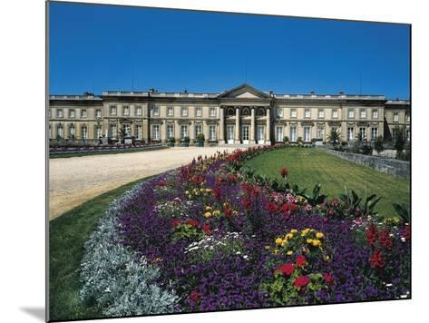France, Compiegne, Castle and Garden View--Mounted Giclee Print