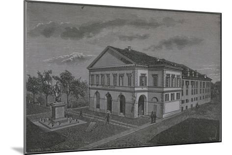 Italy, Novara, Coccia Theatre by Riva from Monograph on Novara--Mounted Giclee Print