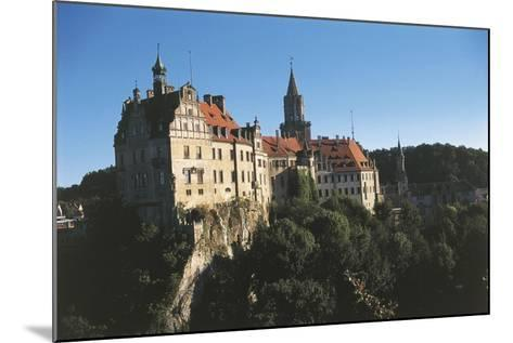 Germany, Baden-Wurttemberg, Sigmaringen, Sigmaringen Castle--Mounted Giclee Print