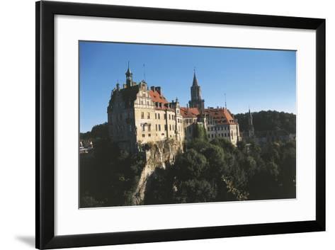 Germany, Baden-Wurttemberg, Sigmaringen, Sigmaringen Castle--Framed Art Print