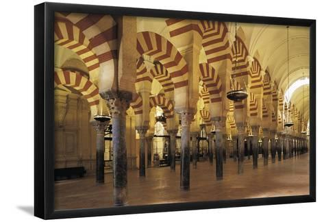 Spain, Andalusia, Cordoba Great Mosque of Cordoba, Christian Cathedral Since 1236--Framed Art Print