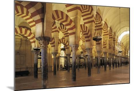 Spain, Andalusia, Cordoba Great Mosque of Cordoba, Christian Cathedral Since 1236--Mounted Giclee Print