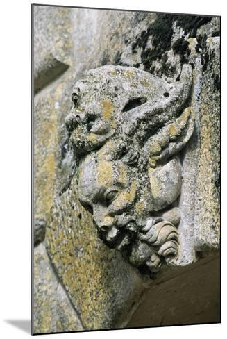 Decorative Detail from Chateau De Saint-Loup Sur Thouet, Poitou-Charentes. France--Mounted Giclee Print