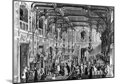 The Gothic Hall of the Bocconi Brothers' Department Stores in Milan, 1879, Italy--Mounted Giclee Print