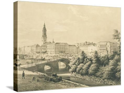 Sweden, View of City of Gothenburg--Stretched Canvas Print