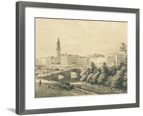 Sweden, View of City of Gothenburg--Framed Art Print
