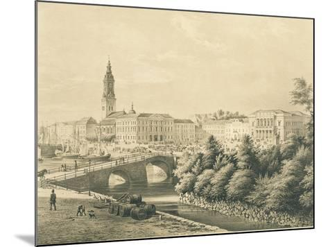 Sweden, View of City of Gothenburg--Mounted Giclee Print