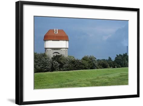 Germany, Duisburg-Rheinhausen, Hohenbudberg Water Tower--Framed Art Print