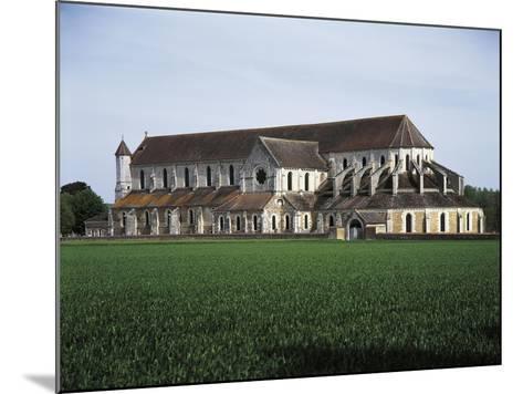 France, Pontigny, Church in 12th Century Cistercian Abbey--Mounted Giclee Print