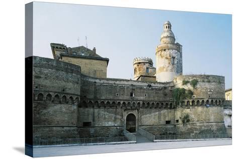 Castle of Vasto, Chieti, 1439, Abruzzo, Italy--Stretched Canvas Print