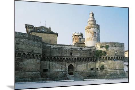 Castle of Vasto, Chieti, 1439, Abruzzo, Italy--Mounted Giclee Print