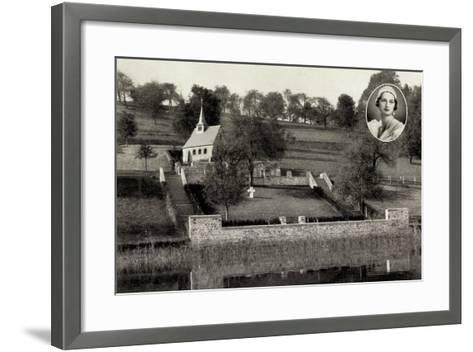 Küssnacht Am Rigi, Reine Des Belges, Königin Astrid--Framed Art Print