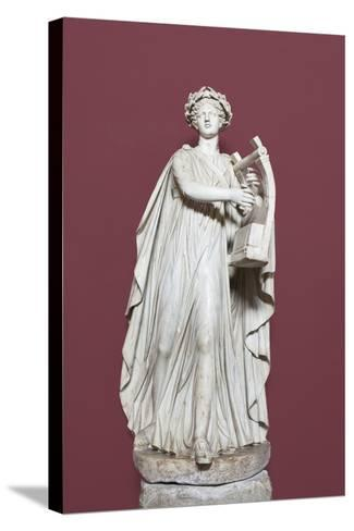 Apollo Holding the Lyra, Hall of the Muses, Vatican Museums, Rome, Italy--Stretched Canvas Print