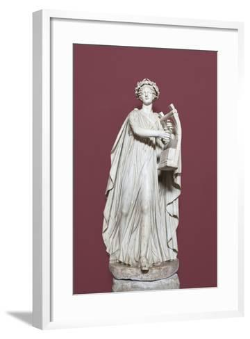 Apollo Holding the Lyra, Hall of the Muses, Vatican Museums, Rome, Italy--Framed Art Print